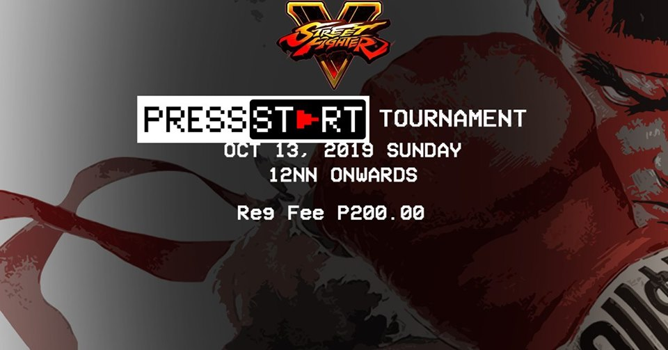 STREET FIGHTER V OCTOBER TOURNAMENT