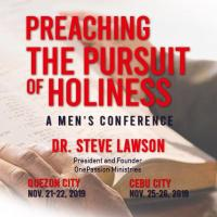 Preaching the Pursuit of Holiness (Quezon City)