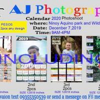 Calendar 2020 Photoshoot