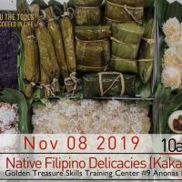 NATIVE FILIPINO DELICACIES (KAKANIN MAKING)