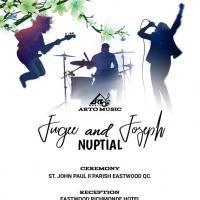 JUGEE & JOSEPH NUPTIALS