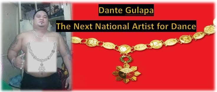 DANTE GULAPA-NATIONAL ARTIST FOR DANCE MOVEMENT