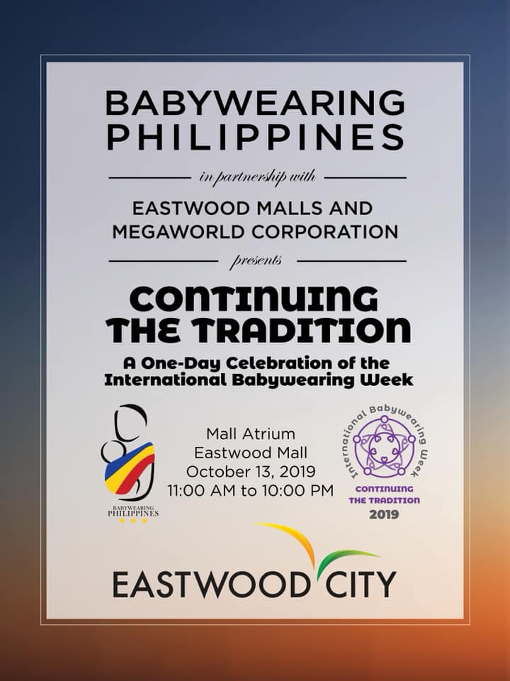 International Babywearing Week 2019