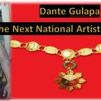 DANTE GULAPA-NATIONAL ARTIST FOR DANCE MOVEMENT