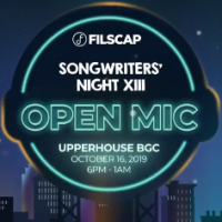 FILSCAP Songwriters' Night XIII | Upperhouse BGC