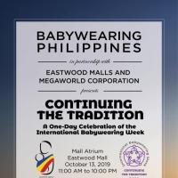 International Babywearing Week 2019
