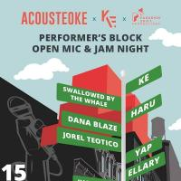 PERFORMER'S BLOCK OPEN MIC AND JAM NIGHT AT UPPERHOUSE