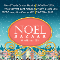 Noel Bazaar 2019 at SMX Convention Center Manila