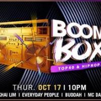 BOOMBOX: RNB & HIP HOP NIGHT AT COVE MANILA