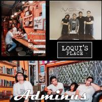 ADMINUS : SINGLE LAUNCH AT LOQUI'S PLACE