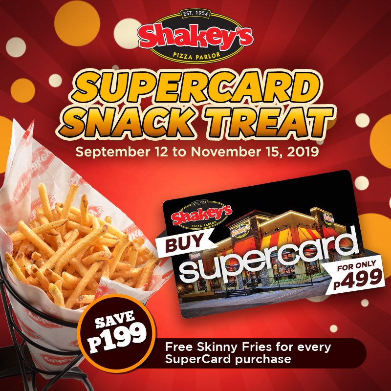 SUPERCARD SNACK TREAT