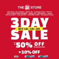 THE SM STORE 3-DAY SALE