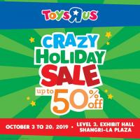 "TOYS""R""US CRAZY HOLIDAY SALE"