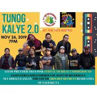 TUNOG KALYE 2.0 AT THE 70'S BISTRO