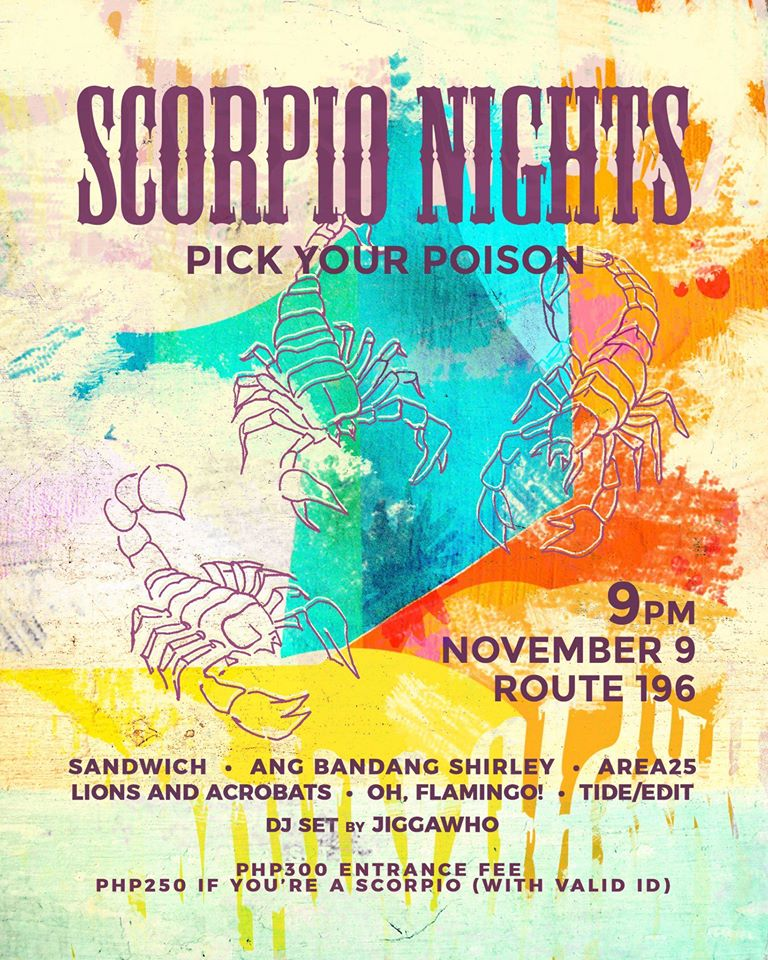 SCORPIO NIGHTS AT ROUTE 196