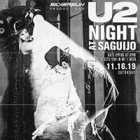 U2 NIGHT AT SAGUIJO CAFE + BAR EVENTS
