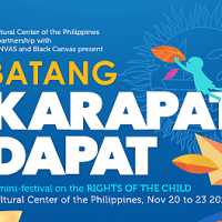 Batang Karapat-Dapat: Artist groups collaborate for children's rights