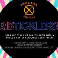 COMEDY MANILA'S RIB TICKLERS AT BRAD AND PIT'S RIBSHACK