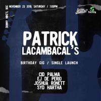 HINDI NA IKAW BY PATRICK LACAMBACAL - SINGLE LAUNCH AT SKINNY MIKE'S SPORTS BAR
