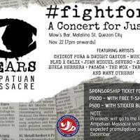 FIGHTFOR58: A CONCERT FOR JUSTICE AT MOW'S