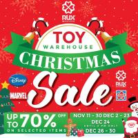 RUX CHRISTMAS TOY WAREHOUSE SALE