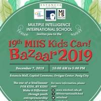 19th MIIS Kids Can! Bazaar 2019