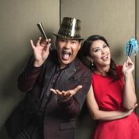 Martin and Pops Celebrate A Grand New Year's Eve at Solaire