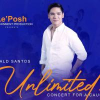 "Gerald Santos Headlines ""Unlimited, A Concert For A Cause"""
