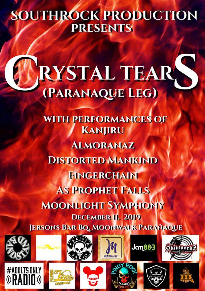 CRYSTAL TEARS (PARAÑAQUE LEG) AT JERSON'S BAR B-Q