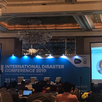 Disaster Risk Management and Resiliency highlighting Water-related Issues Discussed in International Disaster Conference