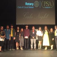 SDCA Comm Majors Shine at Rotary PSA Festival