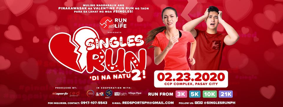 Singles RUN - Di Na Natu2