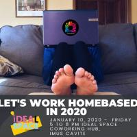 Let's work from home this 2020!