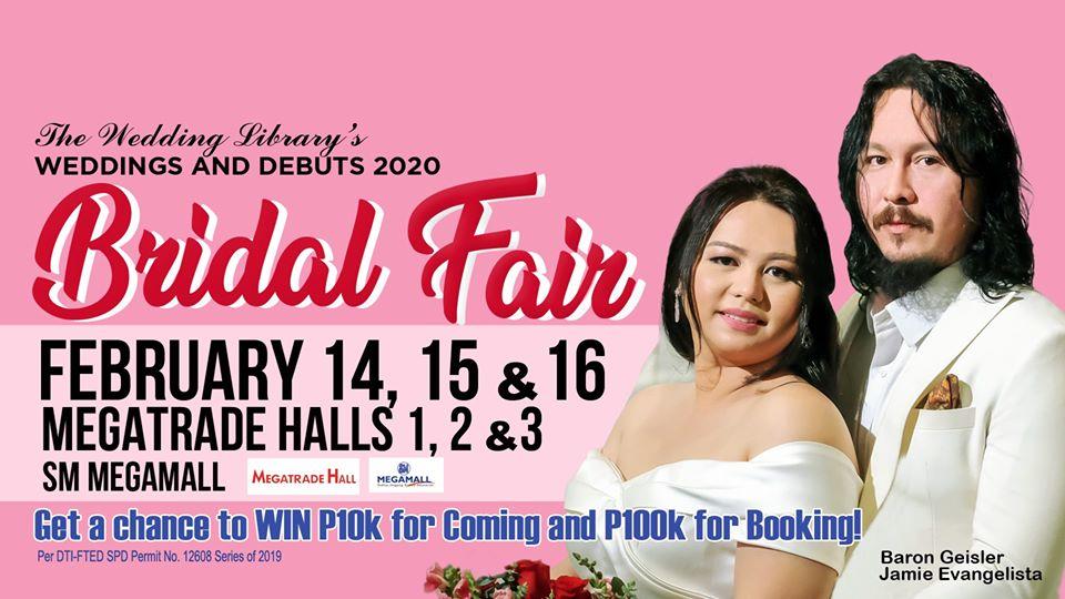 The Wedding Library's Bridal Fair 2020