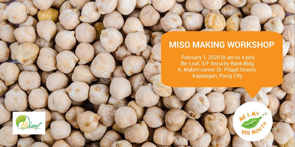 Miso Making Workshop