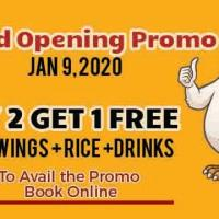 CHICKADEL WINGS ATBP GRAND OPENING PROMO
