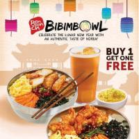 BIBIMBOWL BUY 1 GET ONE FREE