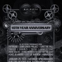 MAKINARYA COLLECTIVE 10TH YEAR ANNIVERSARY AT FLIP AND BEYOND BAR & RESTO