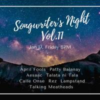 SONGWRITER'S NIGHT VOL. 11 AT LOQUI'S PLACE