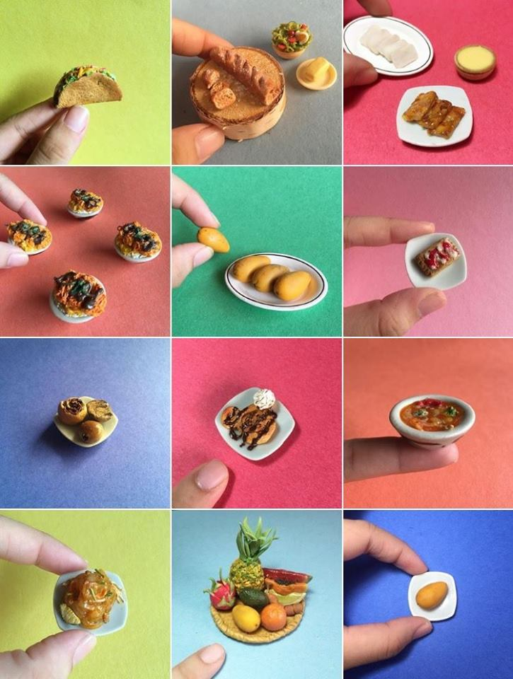 Polymer Clay Miniature Food Workshop