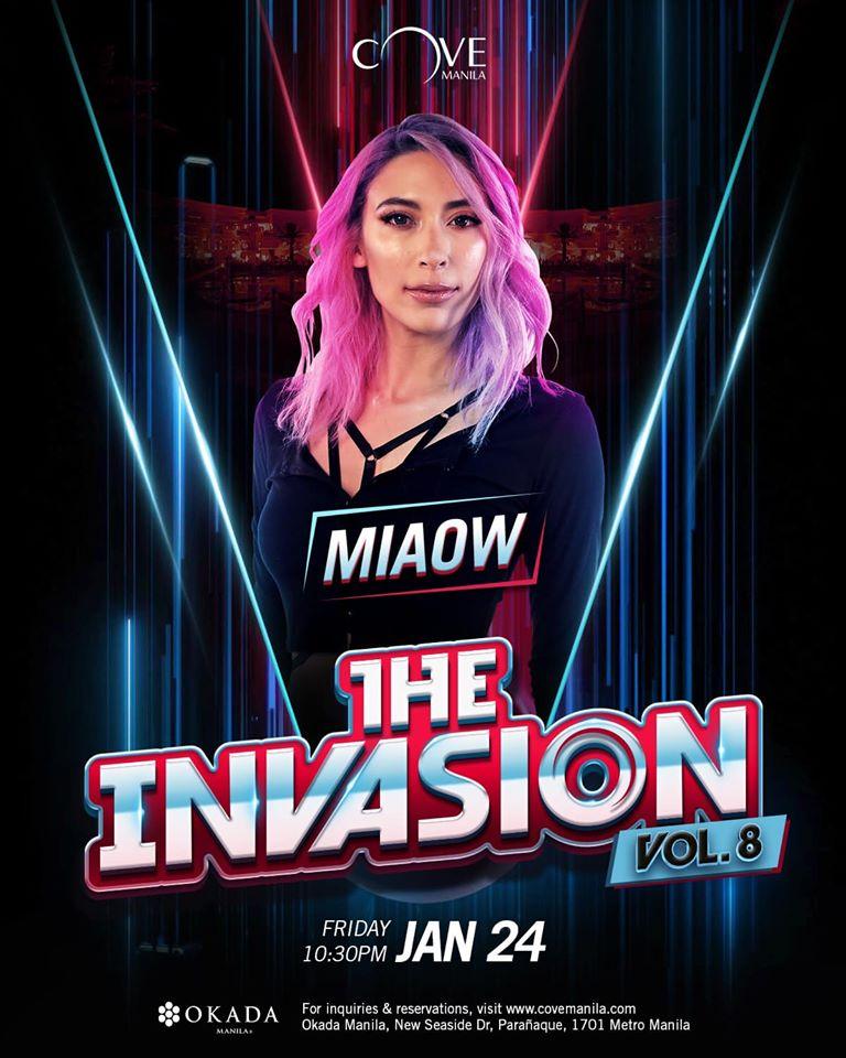 THE INVASION VOL. 8 AT COVE MANILA
