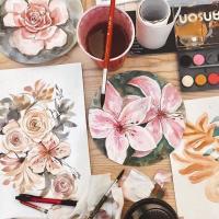 Watercolor Botanicals Workshop