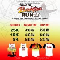 Tailor Fit Resolution Run 2020