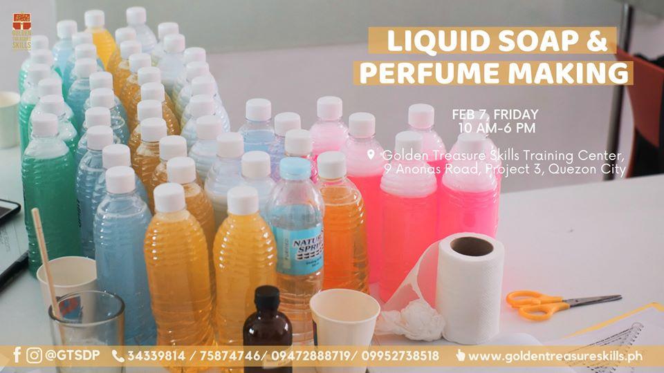 Soap and Perfume Making Seminar- (Weekday)
