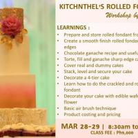 Kitchnthel's Rolled Fondant Workshop by Ai Leen