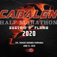 CABALEN HALF MARATHON 2020 - sustain d' flame