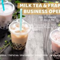 Milk Tea and Frappe Shop Business Operation Seminar set