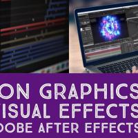 Motion Graphics and Visual Effects using Adobe After Effects