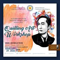 Mabini Quilling Art Workshop