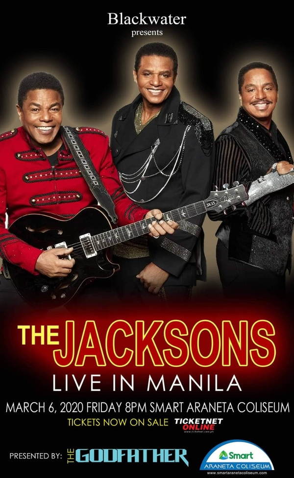 The Jacksons Live in Manila